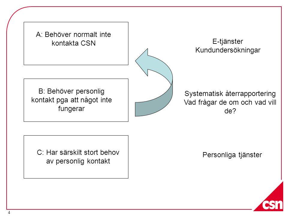 5 Behovskunder ►Svårighet att förstå och göra sig förstådd på svenska språket ►Särskilt svåra eller komplicerade ärenden ►Behov av kvalificerad vägledning ►Pga av funktionshinder har behov av personlig tjänst