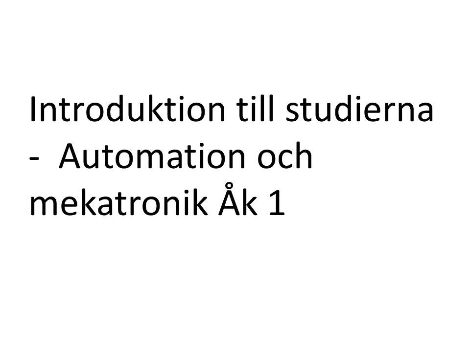 • Lycka till med studierna!