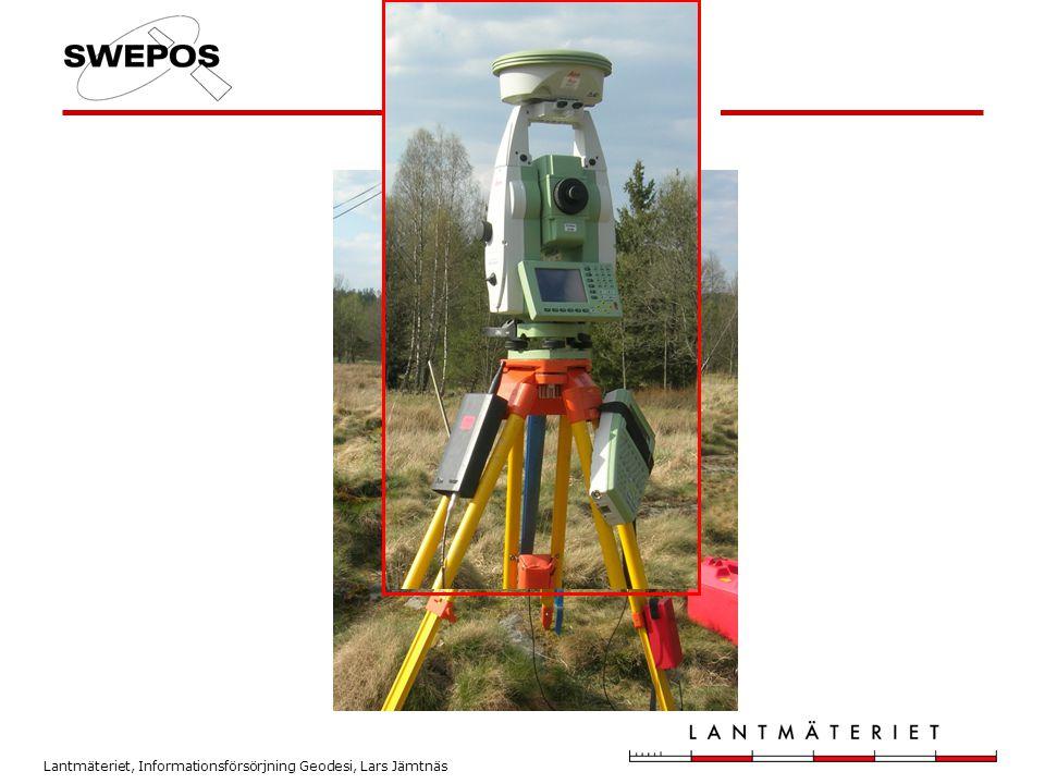 Lantmäteriet, Informationsförsörjning Geodesi, Lars Jämtnäs Fältutrustning