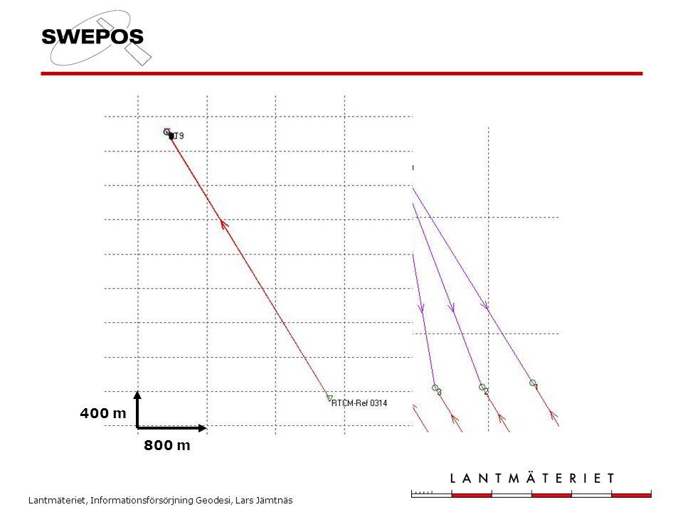 Lantmäteriet, Informationsförsörjning Geodesi, Lars Jämtnäs 5 m 800 m 400 m
