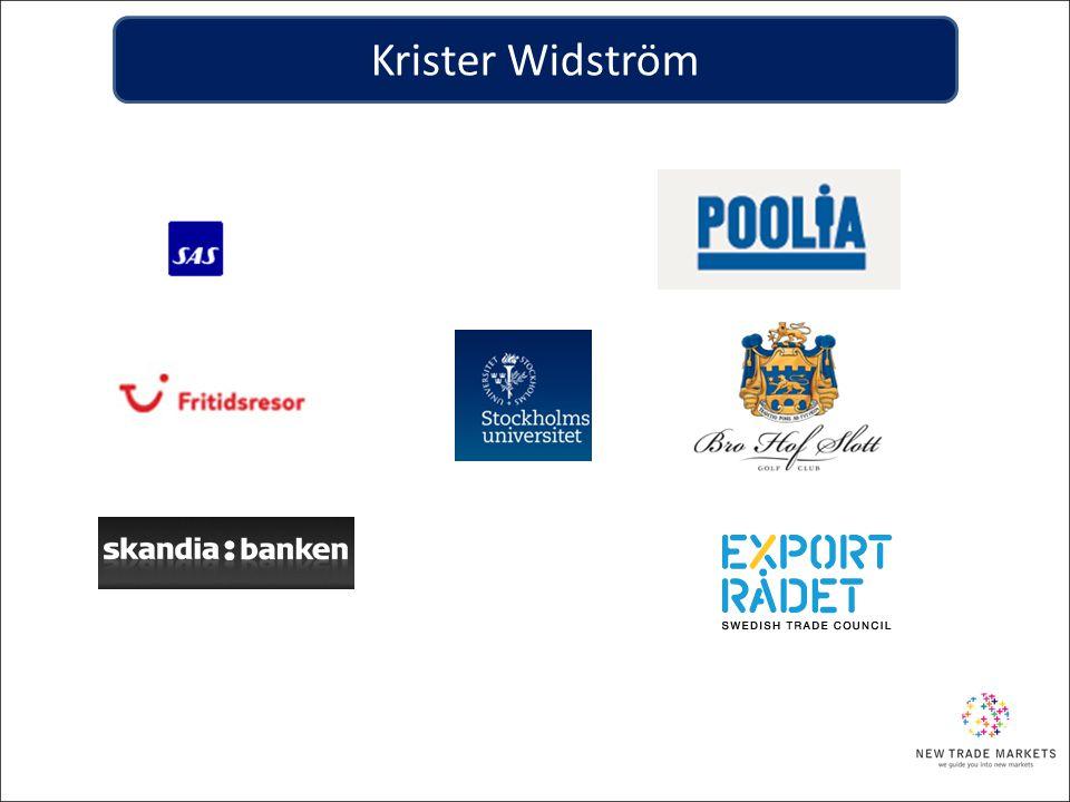 Export och utlandsetablering Swentec Nordiska projektfonden EKN/ SEK VinnovaSwedfund Handels- kammare Företagar- organisationer Tillväxtverket ALMI Länsstyrelse Regionförbund Kommuner Exportrådet Organisationer och offentliga aktörer