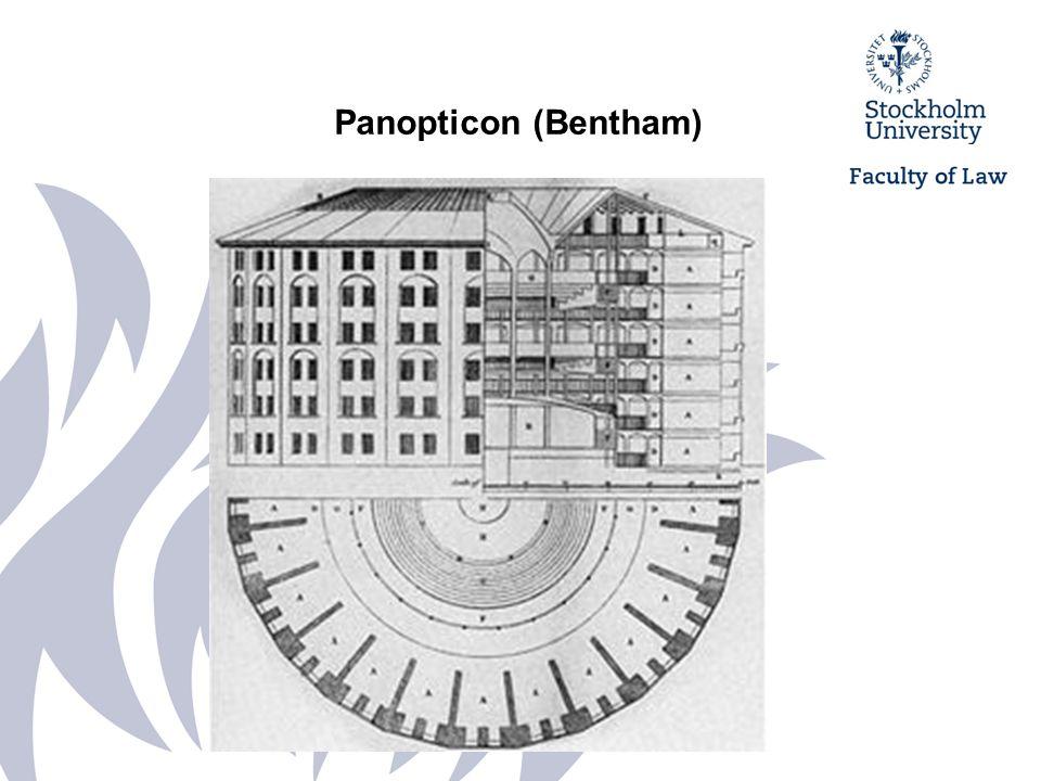 Panopticon som metafor för det moderna övervakningssamhället - teleskärmar i Orwell's 1984 Teleskärmar i Orwell's 1984