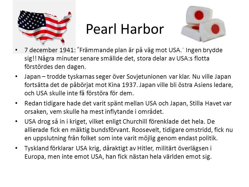 """Pearl Harbor • 7 december 1941: """"Främmande plan är på väg mot USA."""" Ingen brydde sig!! Några minuter senare smällde det, stora delar av USA:s flotta f"""