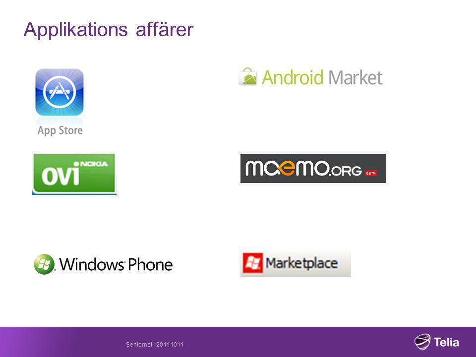 Applikations affärer