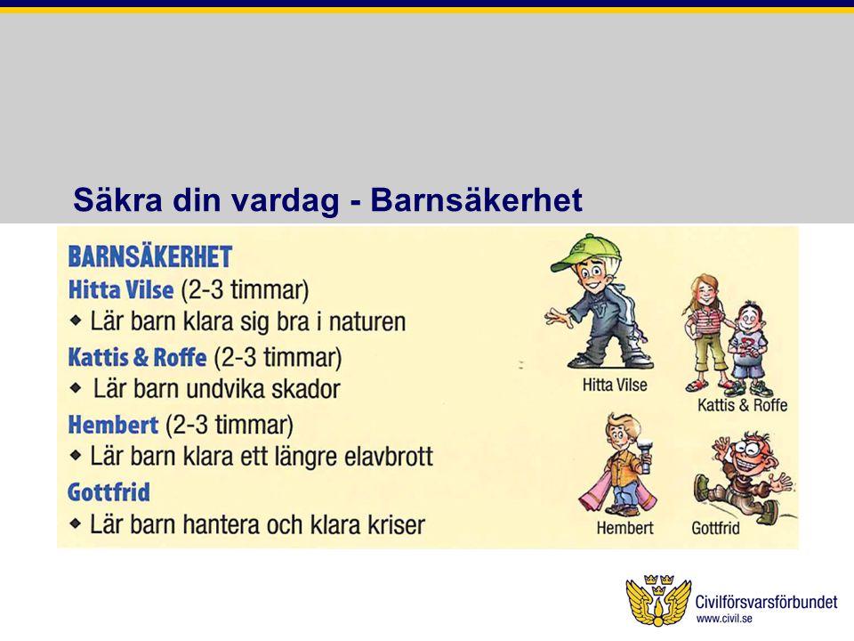 Säkra din vardag - Barnsäkerhet