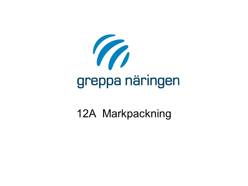 12A Markpackning