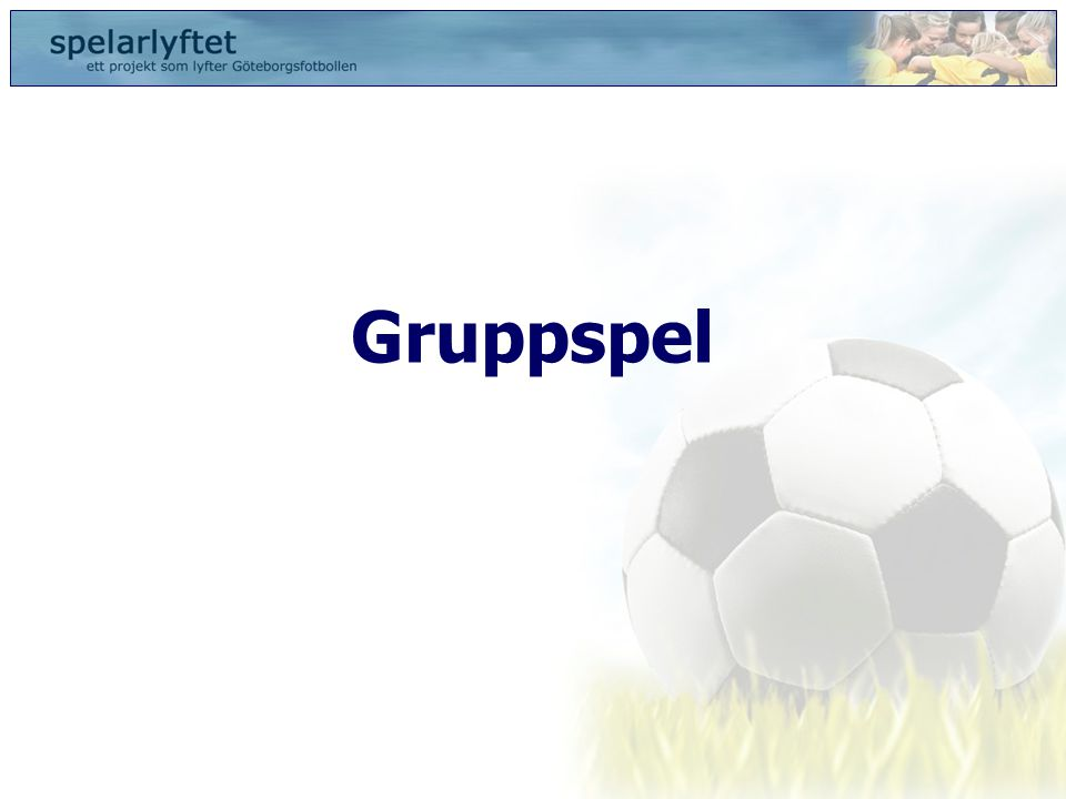 Gruppspel