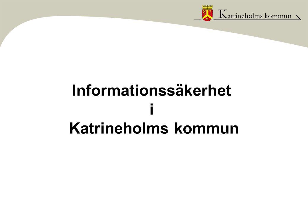 Informationssäkerhet i Katrineholms kommun