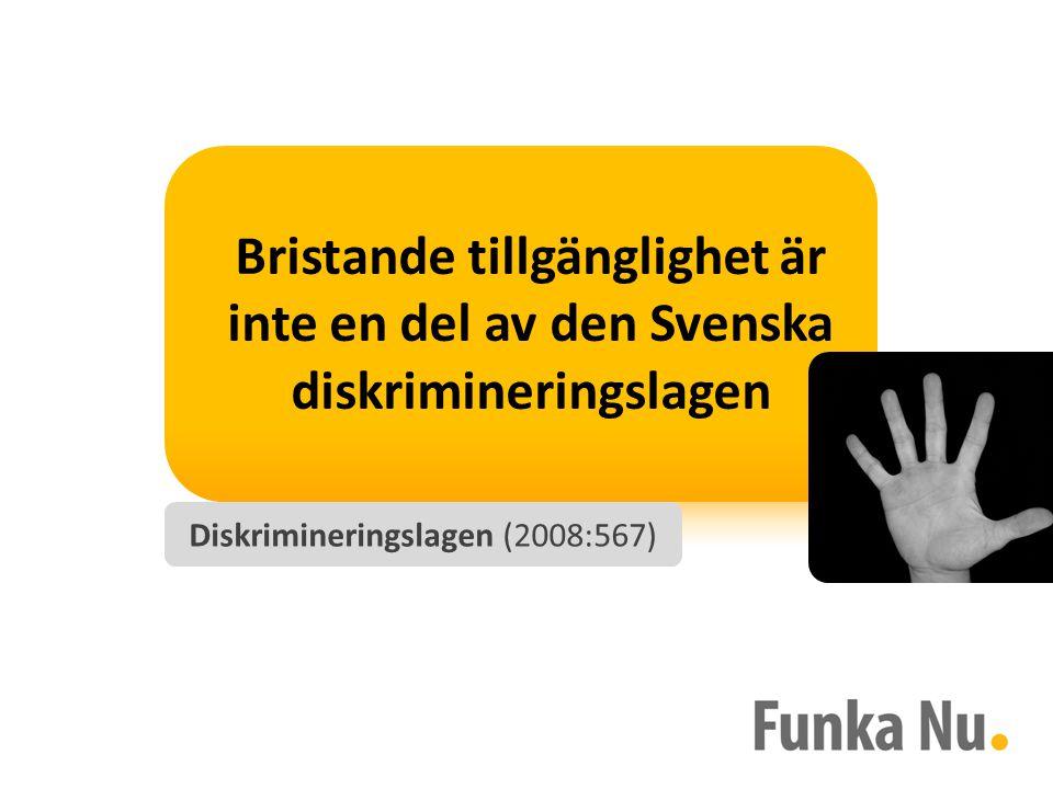 Diskrimineringslagen (2008:567)