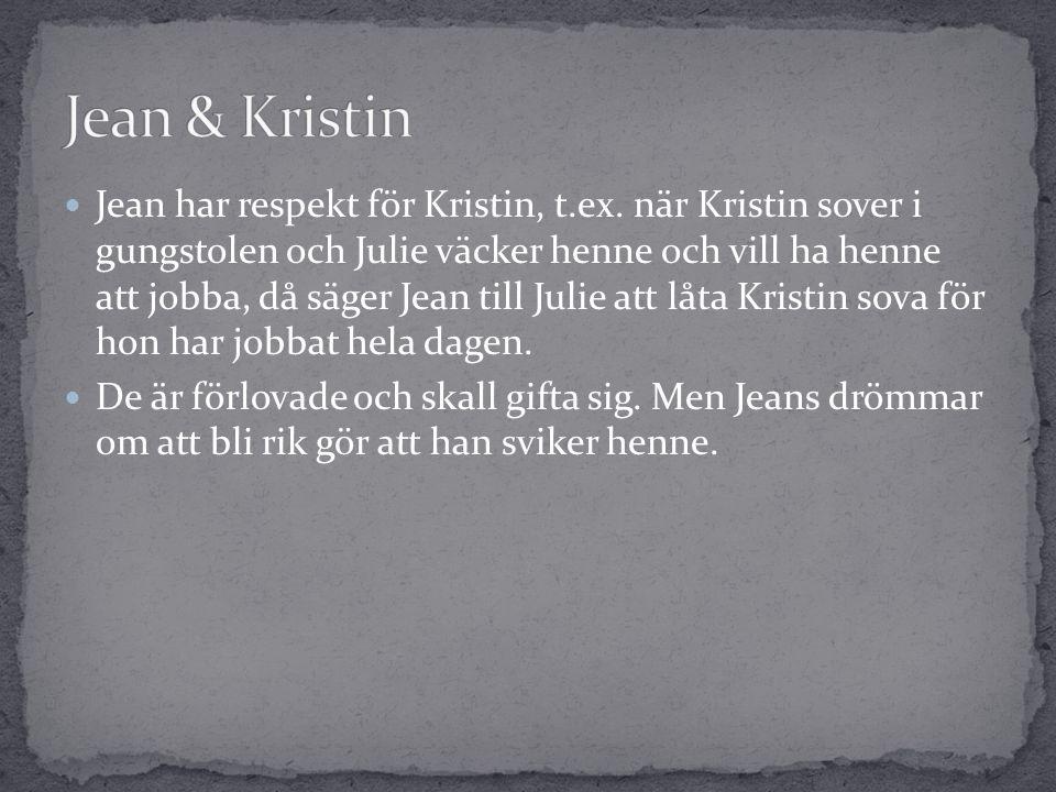  Jean har respekt för Kristin, t.ex.