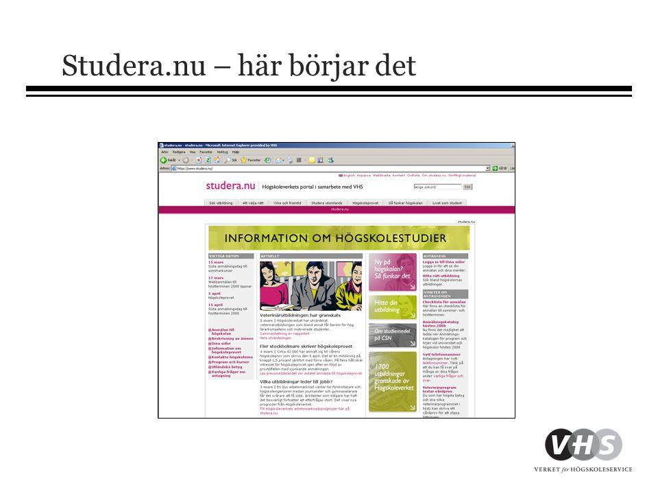 forts.Virtuella org. •Grund-VO – handlägger meriter i ST-, HT- och VT- omgångarna.
