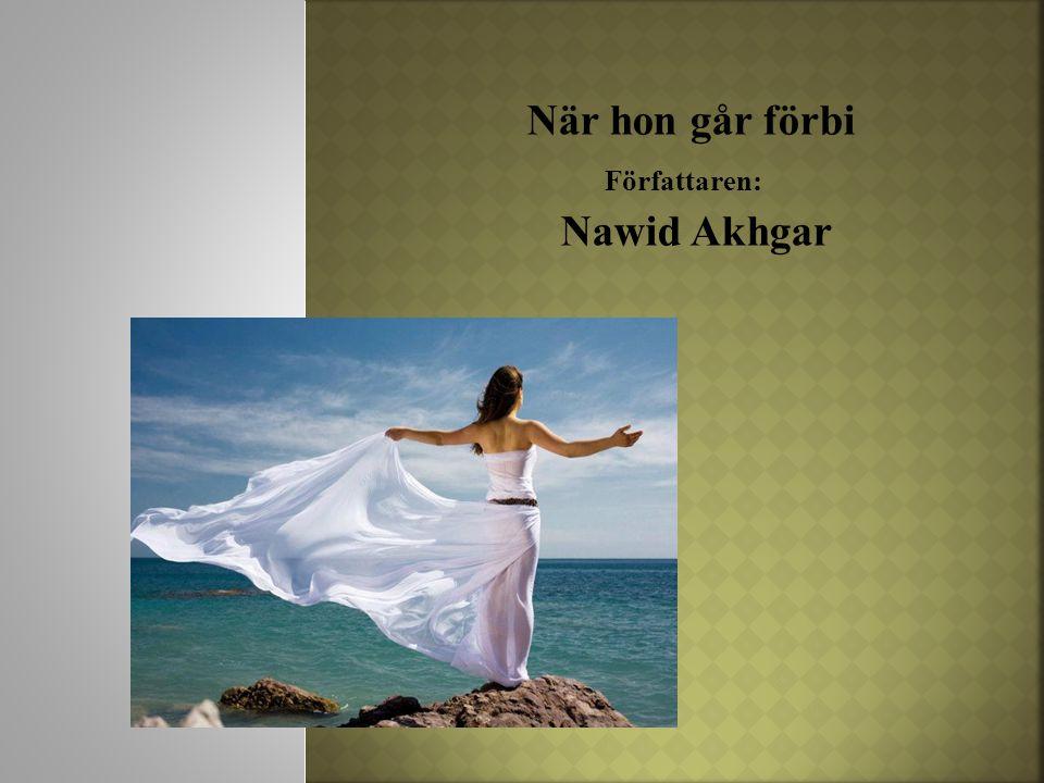 När hon går förbi Författaren: Nawid Akhgar