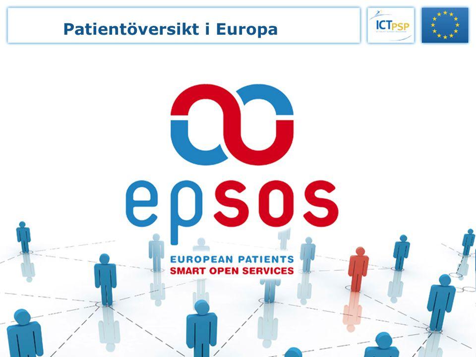 Beställarfunktionen för nationell IT i vård och omsorg 99 Patientöversikt i Europa