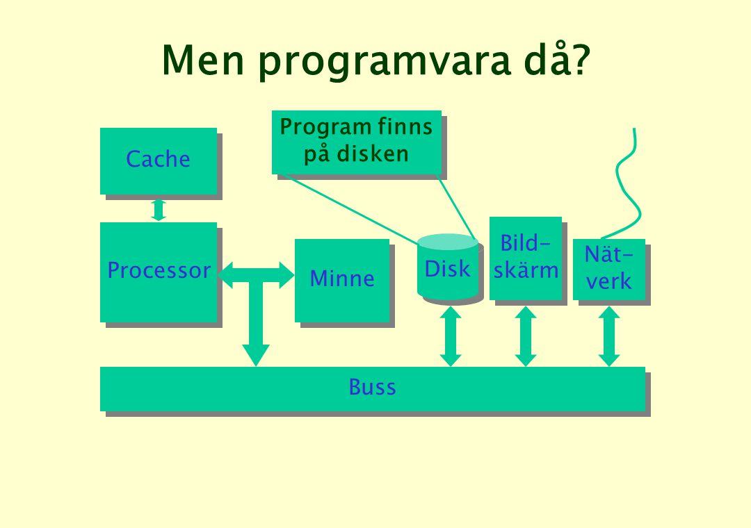Men programvara då.