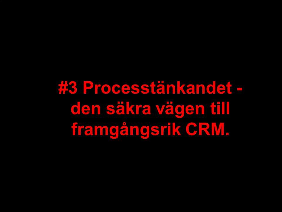 2 Marknadsföring bygger på att utveckla de enskilda processdelarna