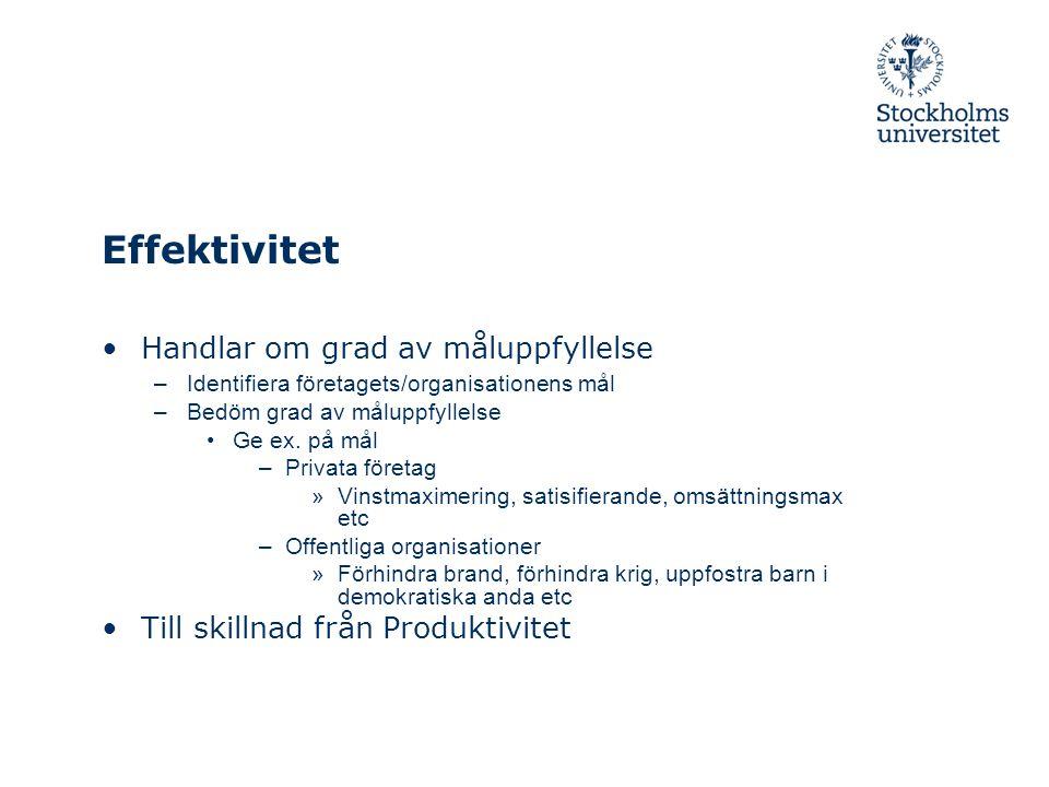 Nyckeltal forts •Soliditet (betalningsförmåga på lång sikt) EK/T •Skuldsättningsgrad S/T