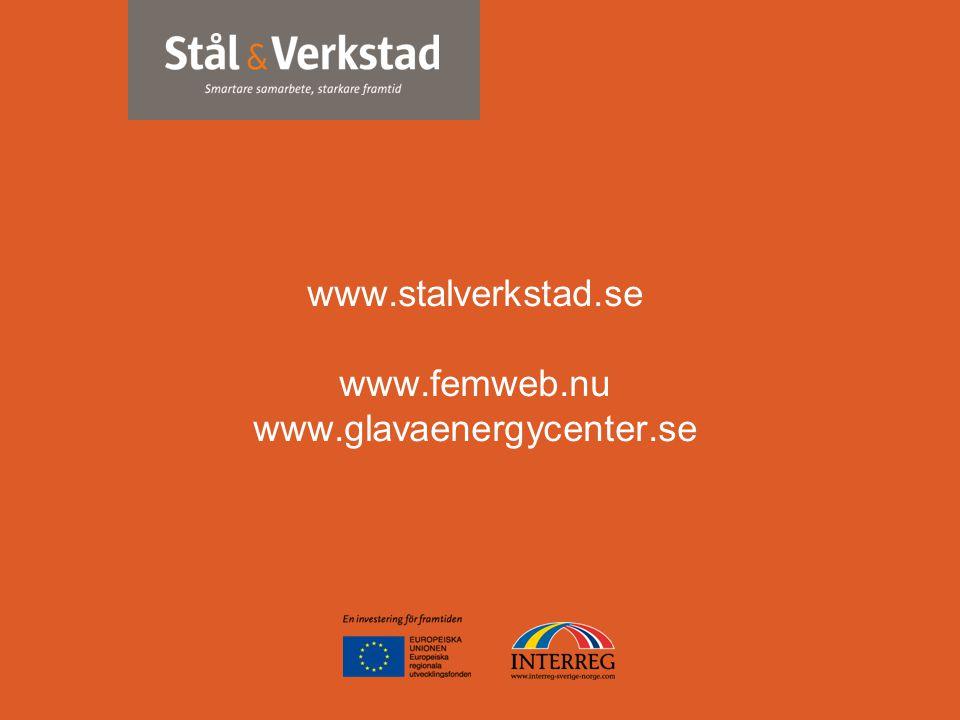 www.stalverkstad.se www.stalverkstad.se www.femweb.nu www.glavaenergycenter.se