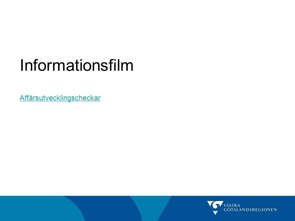 Informationsfilm Affärsutvecklingscheckar