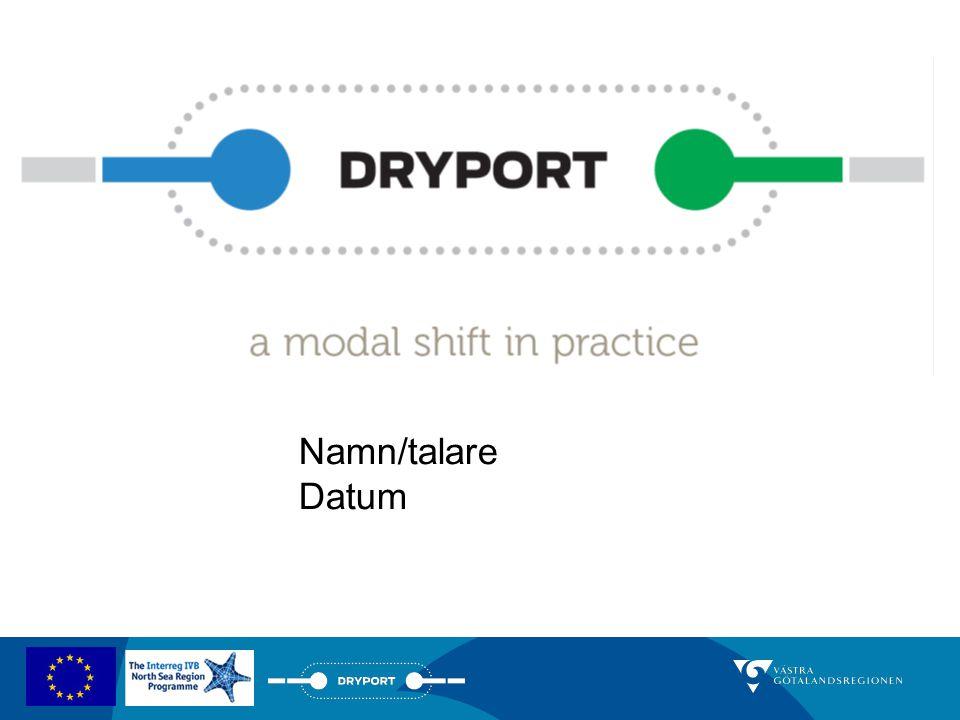 System med järnvägspendlar länkade till Göteborgs hamn