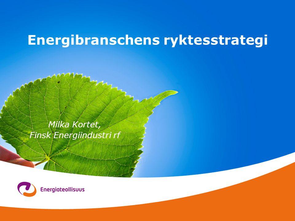 Energibranschens ryktesstrategi Milka Kortet, Finsk Energiindustri rf