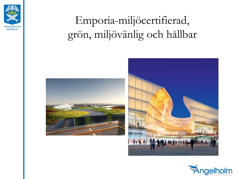 Emporia-miljöcertifierad, grön, miljövänlig och hållbar