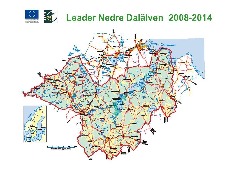 Leader Nedre Dalälven 2008-2014