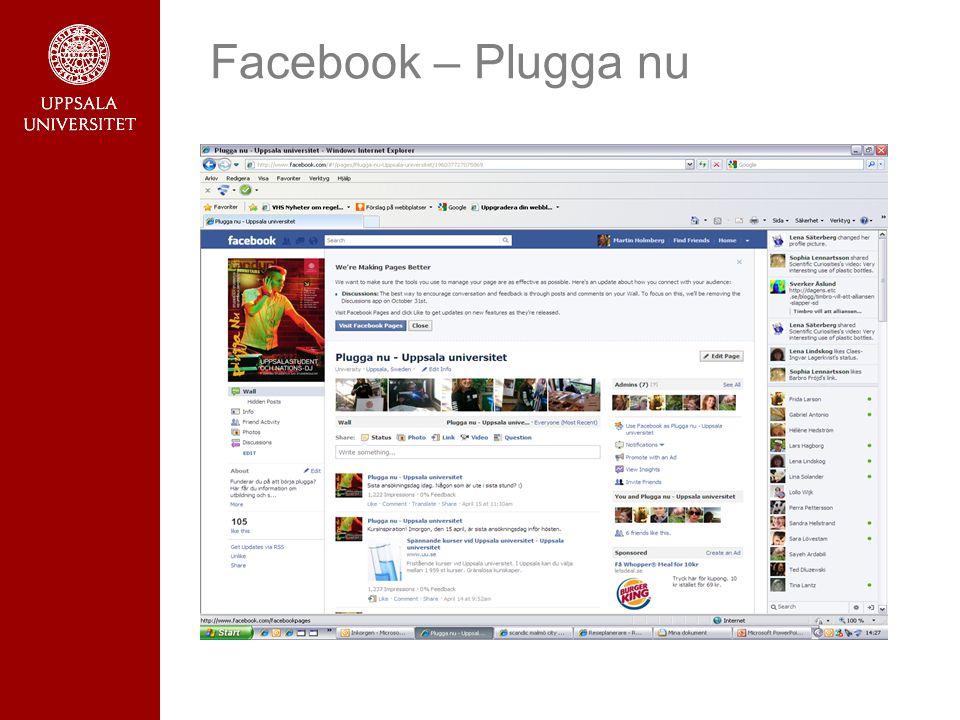 Facebook – Plugga nu