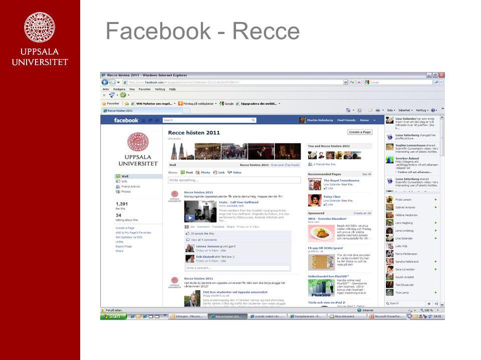 Facebook - Recce