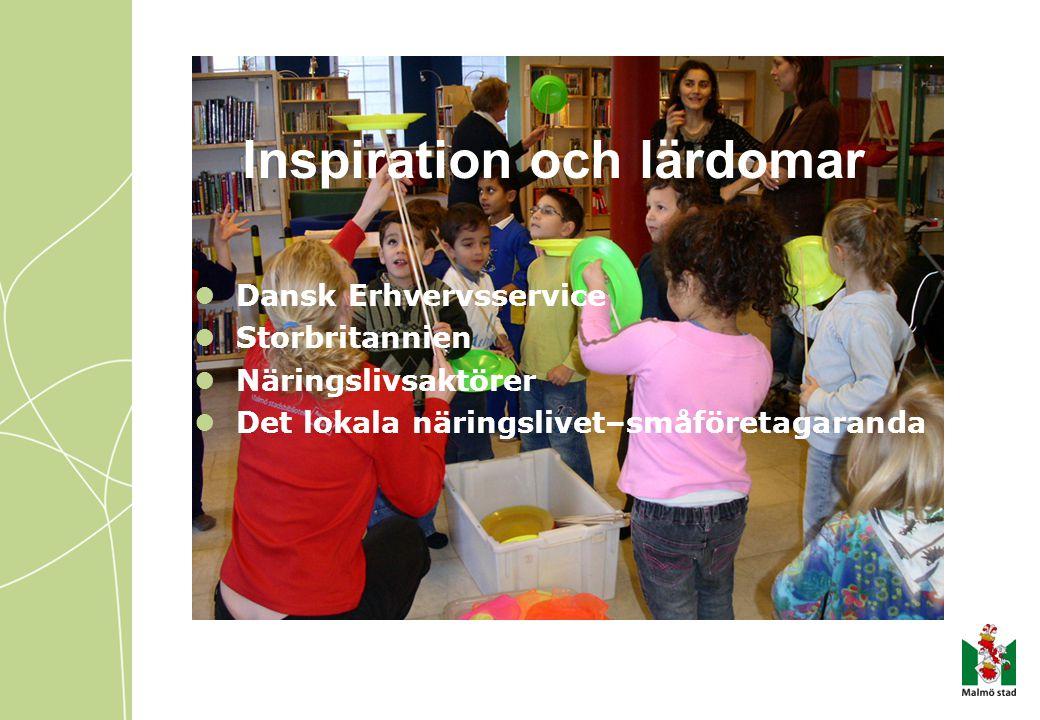 Inspiration och lärdomar  Dansk Erhvervsservice  Storbritannien  Näringslivsaktörer  Det lokala näringslivet–småföretagaranda