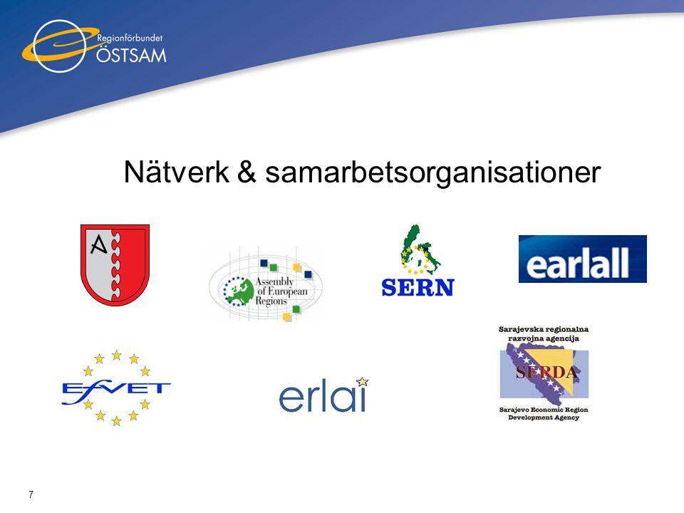 7 Nätverk & samarbetsorganisationer