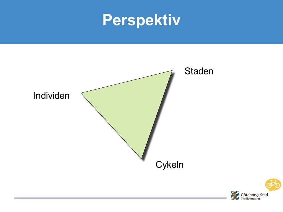 Perspektiv Individen Staden Cykeln