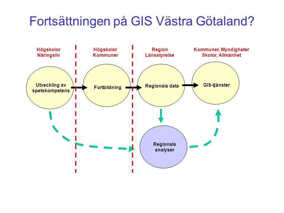 Fortsättningen på GIS Västra Götaland.