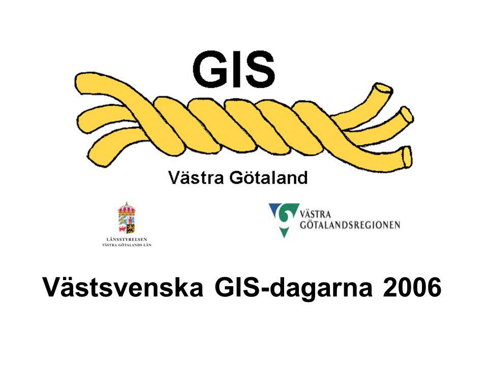 Västsvenska GIS-dagarna 2006