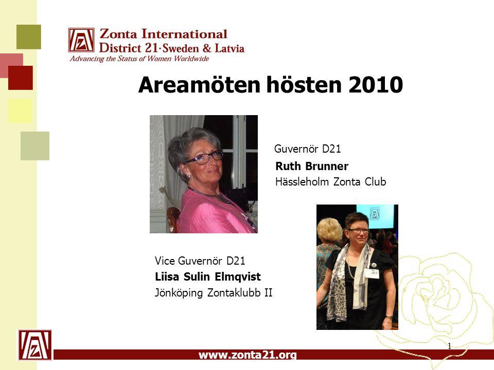 www.zonta21.org Zonta International är en unik, demokratisk organisation som består av ledande kvinnor och män i alla åldrar och yrkeskategorier 2