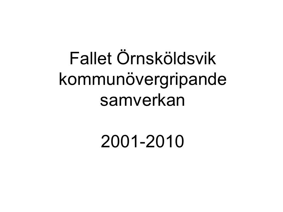 Fallet Örnsköldsvik kommunövergripande samverkan 2001-2010
