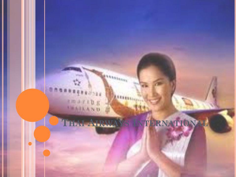 V AD ÄR DET FÖR FÖRETAG .Thai är ett flygbolag från Thailand.
