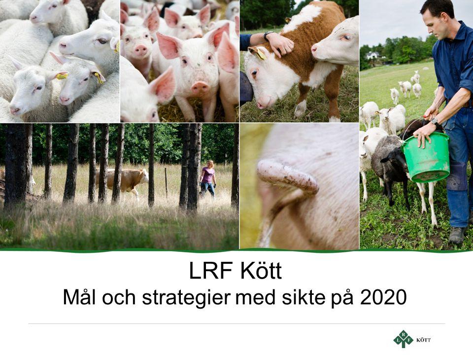 LRF Kött Mål och strategier med sikte på 2020