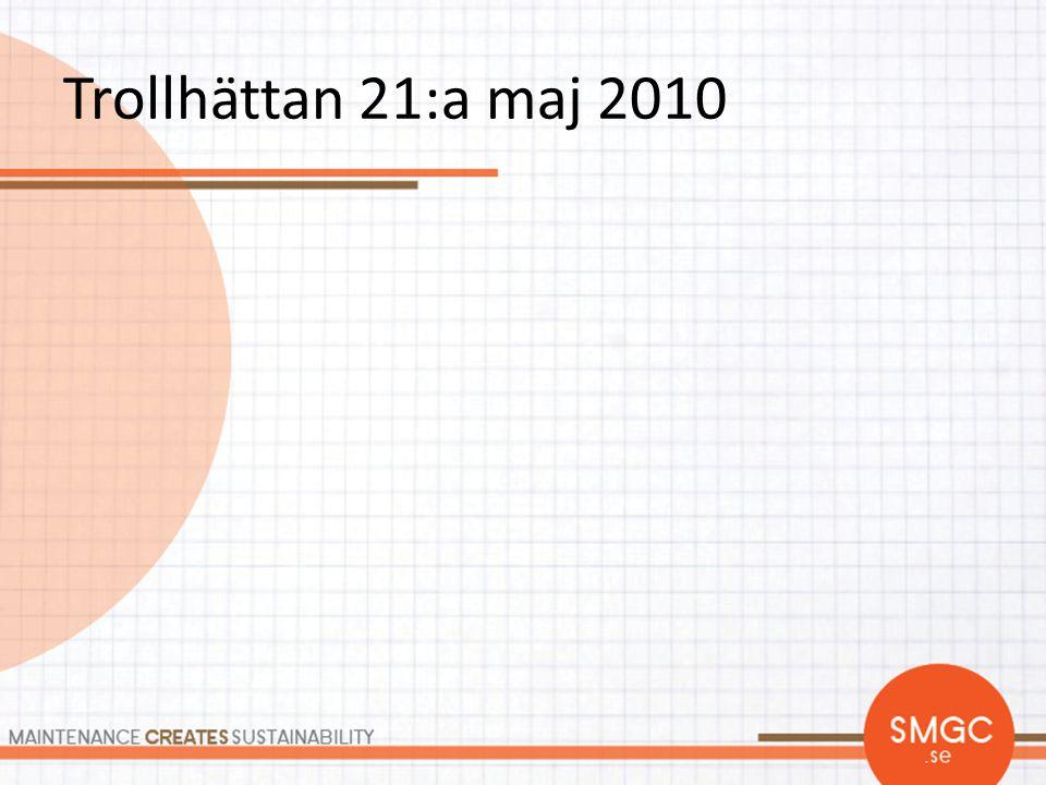 Trollhättan 21:a maj 2010