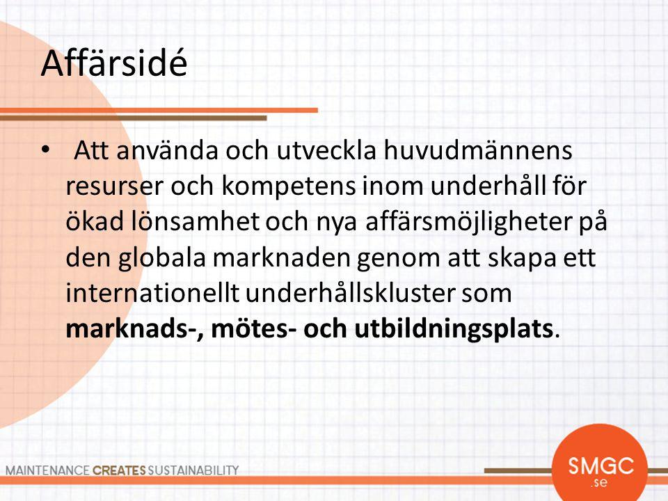 Nätverk • Syftar till att sprida kunskap kring effektiva underhållslösningar bland våra medlemmar – Morgan Sjögren (ordf, Volvo Aero) – Sven Lennartsson (Kinnarps) – Jonny Åhs (Autoliv) – Gert Holgersson (Parker Hannifin)