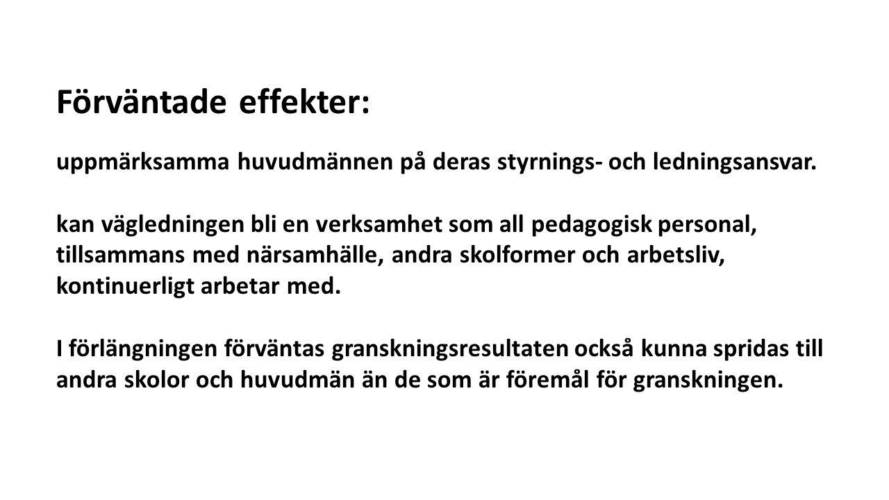 Undersökningen visar: Att vägledningsarbetet i Västerbotten uppvisar stora likheter med andra regioner som kartlagts.