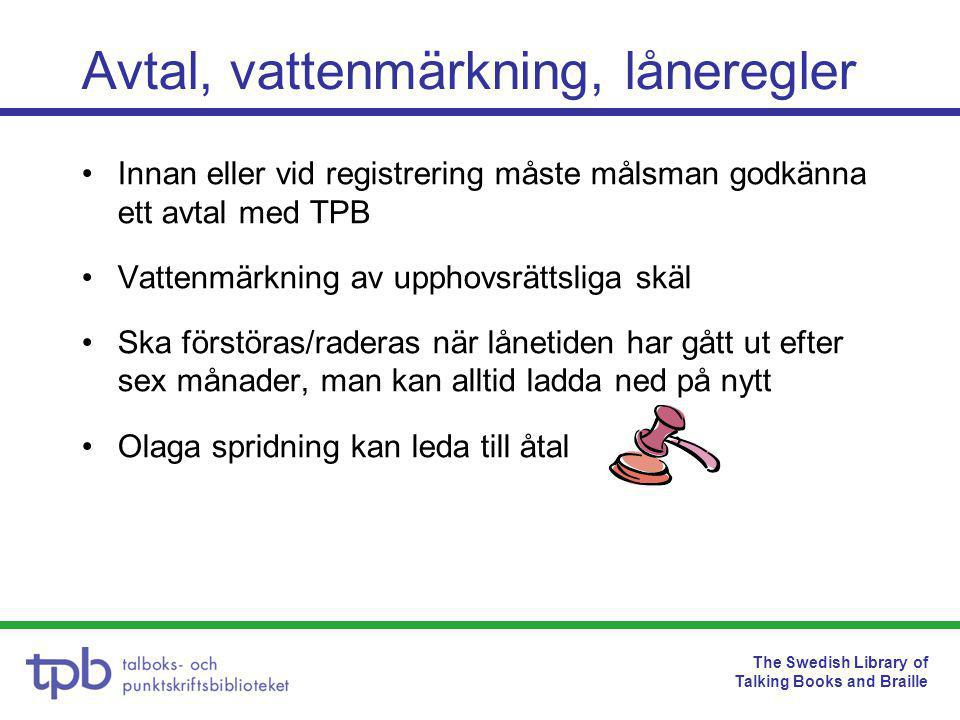 The Swedish Library of Talking Books and Braille Vad gör skolbiblioteket.