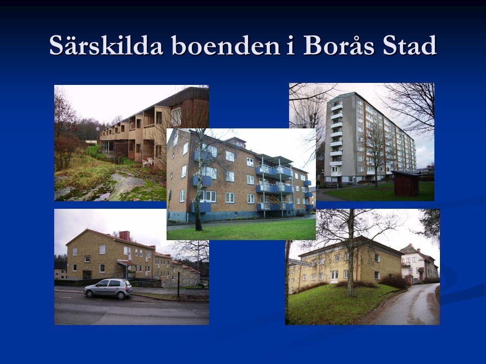 Särskilda boenden i Borås Stad