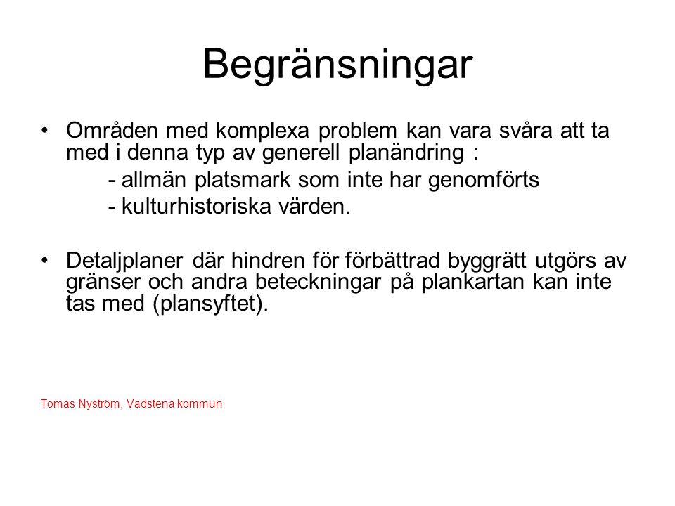 Förslag till planändring 4.