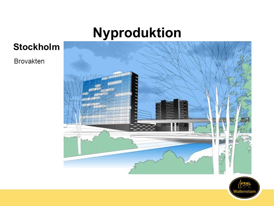 Nyproduktion Stockholm Brovakten