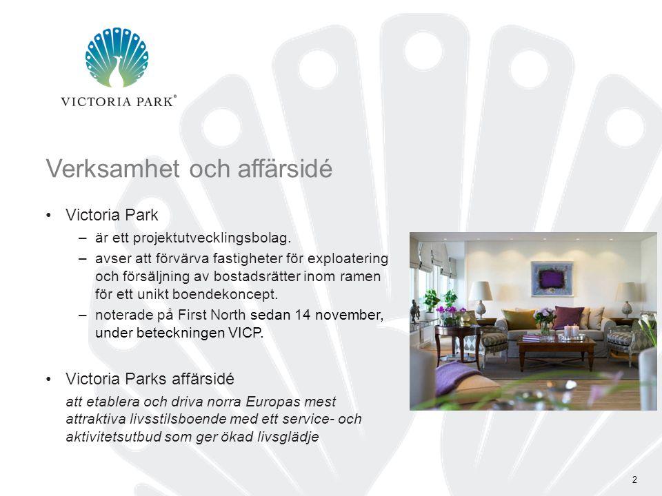 Ett nytt sätt att leva och bo Ett unikt boendekoncept med bostadsrätter som prioriterar hög standard, aktivitet och service.