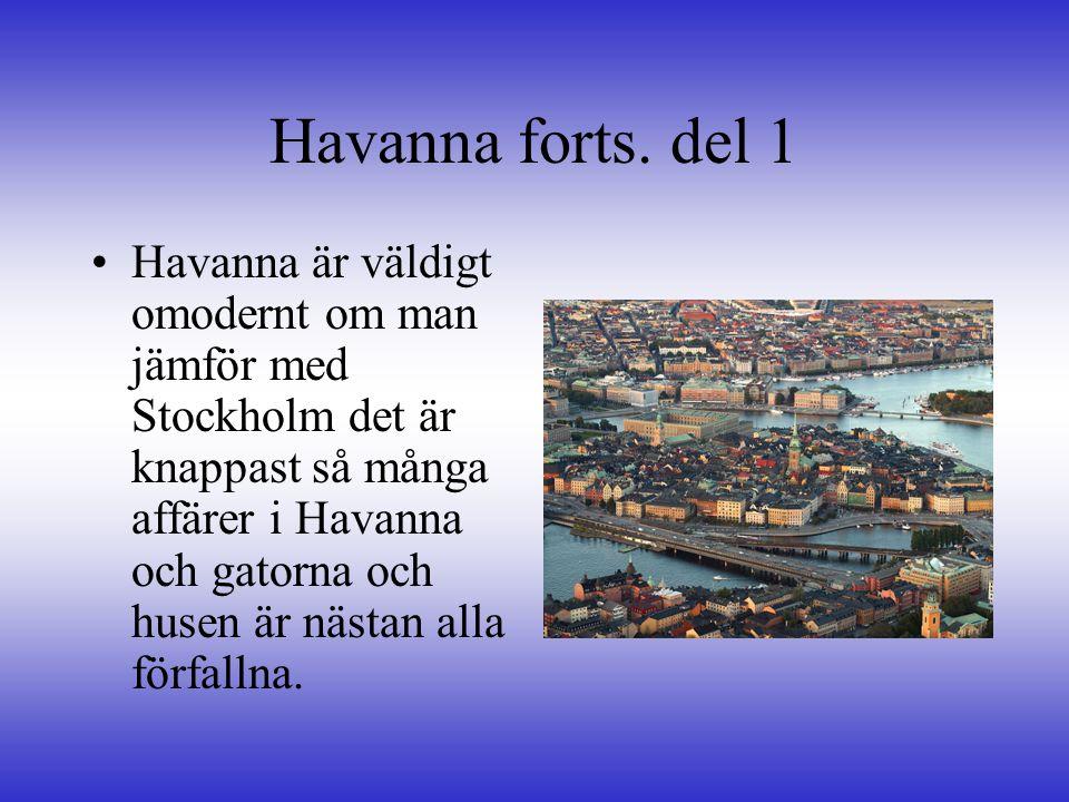 Havanna, forts.
