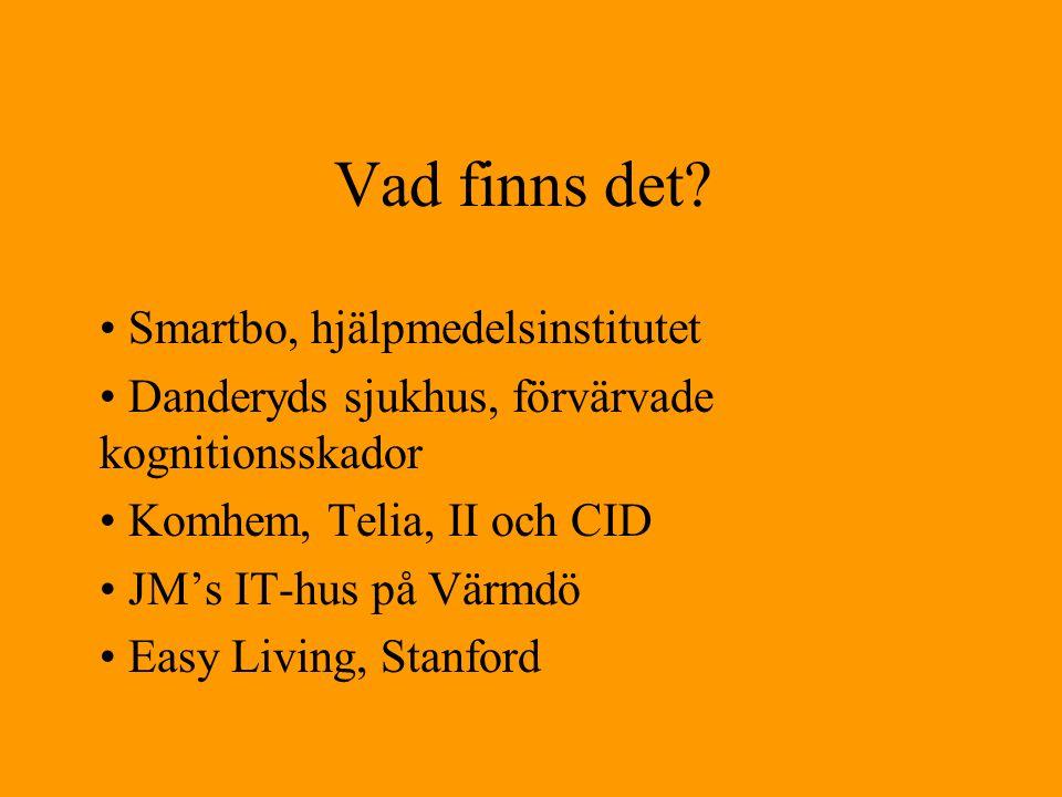 leverantörer •www.vattenfall.se/hejhuset/ •www.sensel.se •www.ehem.com