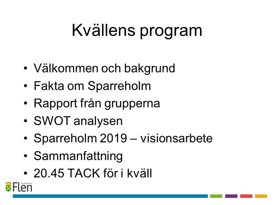 Färdplan Flen - Ortsutveckling Effektmål Att i samarbete med föreningar, näringsliv och invånare utveckla en vision och handlingsplan för varje ort i kommunen.