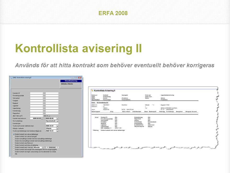 Agenda Hyra, erfarna användare Lite nyheter och lite gammalt som vi tror kan behöva påminnas om igen ERFA 2008