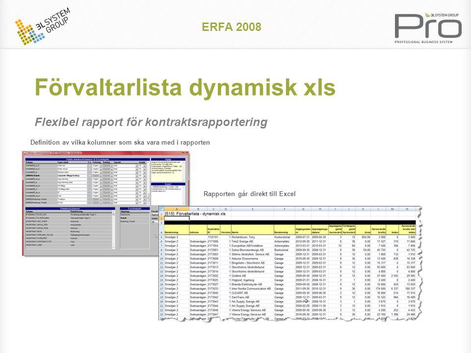 ERFA 2008 Kreditering på belopp (enstaka avirad)